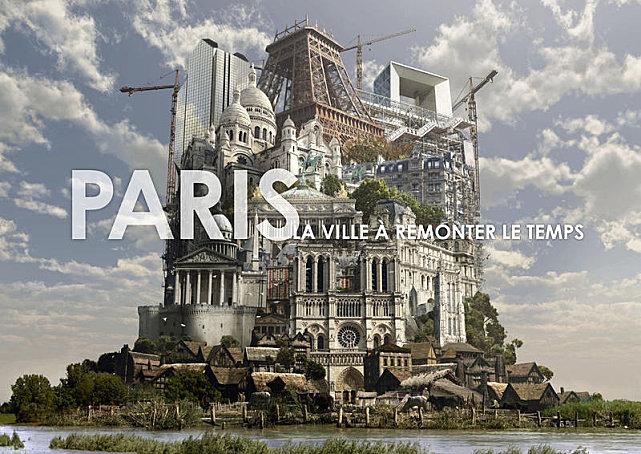 Paris la ville à remonter le temps