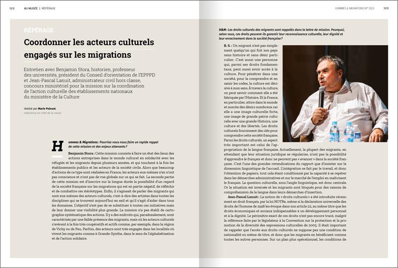 Revue Hommes & Migrations